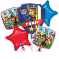Букет из фольгированных шаров Щенячий патруль со звёздами - дополнительное фото #2