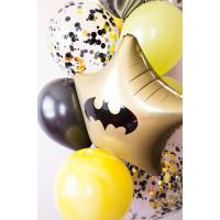 Фонтан из шаров в стиле Бэтмен с конфетти - дополнительное фото #1