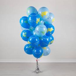 Воздушные шары Глобус - дополнительное фото #2