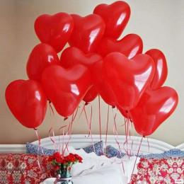 Воздушные шары Красные сердца - дополнительное фото #1