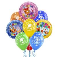 Букет из воздушных шариков Три Кота на день рождения