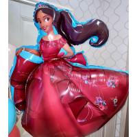 Композиция из гелиевых шаров с принцессой Авалора Еленой - дополнительное фото #2
