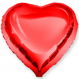 Шар-сердце Красный (46 см)