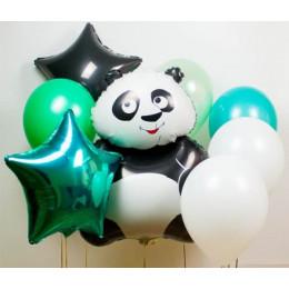 Сет из шаров Панда и звезды