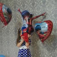 Фигурный шар Леди Баг - дополнительное фото #3