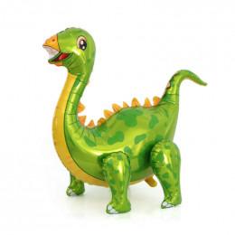 Ходячий шар Динозавр Стегозавр, зеленый
