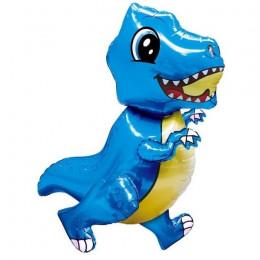 Ходячий шар Малыш динозавр, синий