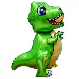 Ходячий шар Малыш динозавр, зеленый