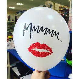 Воздушные шары Поцелуи (с надписями) - дополнительное фото #4
