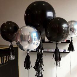 Шарик-сфера Черный, металлик - дополнительное фото #1