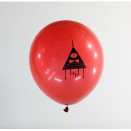 Шары Гравити Фолз с Треугольником Билл Шифр, красные