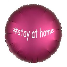 Шарик-круг бургунди,  #stay at home