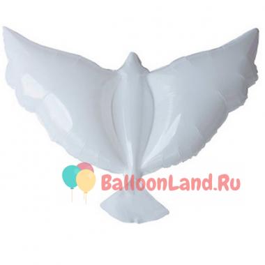 Шары голуби с гелием (биоголуби)