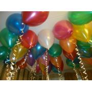 Шарики с гелием Металлик Разноцветное ассорти - дополнительное фото #2