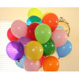 Разноцветные воздушные шары - дополнительное фото #2