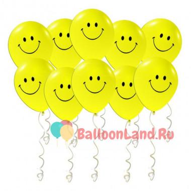 Воздушные шары 'Смайлы'