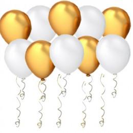 Воздушные шары Белое Золото