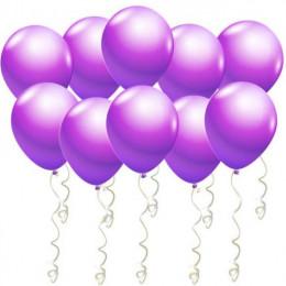 Воздушные шары Фиолетовые (металлик)