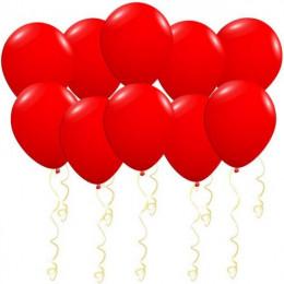 Воздушные латексные шары Красные