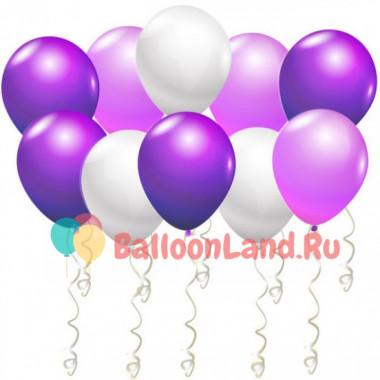 Воздушные шары Лиловый рай