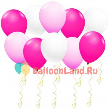 Воздушные шары Малиновый бриз