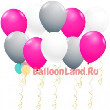 Воздушные шары Малиновый коктейль