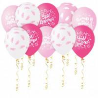 Воздушные шары Шары розовые с гелием