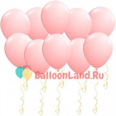 Воздушные шары Нежно-розовые