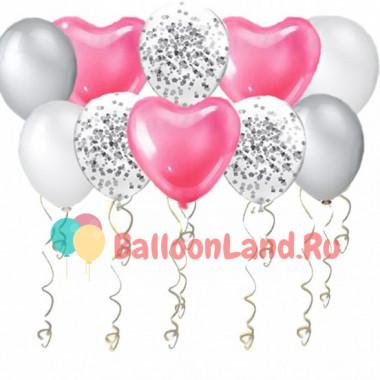 Воздушные шары Нежные чувства