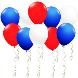 Воздушные шары Патриотические