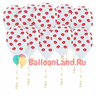 Воздушные шары Поцелуйчики