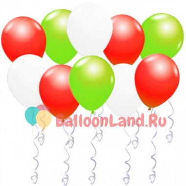 Воздушные шары Рождество