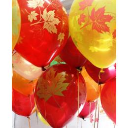 Воздушные шары Осенние листья - дополнительное фото #1