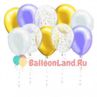 Воздушные шары Снежная сказка