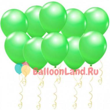 Воздушные шары Светло-зеленые