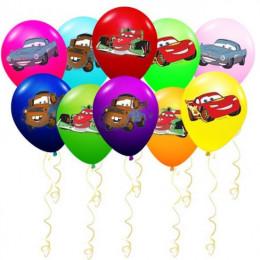 Воздушные шары с героями м/ф Тачки