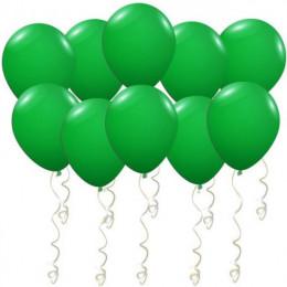 Воздушные шары Темно-зеленые металлик