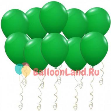 Воздушные шары Темно-зеленые