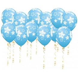 Воздушные шары Ура мальчик