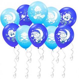 Воздушные шары Поздравления для малыша с гелием