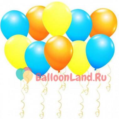 Воздушные шары Яркие краски