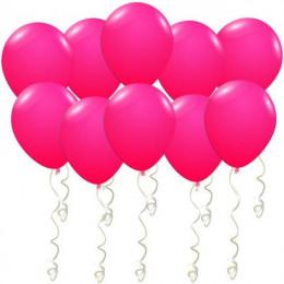 Воздушные шары Ярко-розовые