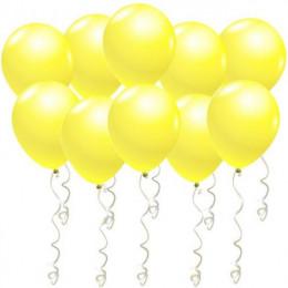 Воздушные гелиевые шары Желтые
