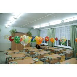Воздушные шары Осенние листья - дополнительное фото #2