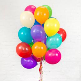 Разноцветные воздушные шары - дополнительное фото #1