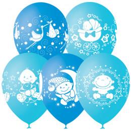 Воздушные шары Поздравления для малыша с гелием - дополнительное фото #1