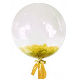 Шар-пузырь Желтые перья