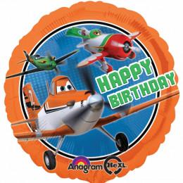 Шар-круг С Днем рождения, Самолеты