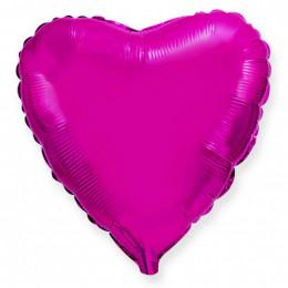 Шар-сердце Розовый (46 см)