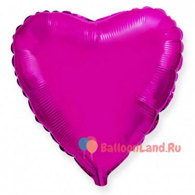 Шар-сердце 'Розовый'